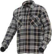 5138 Worker Shirt dark grey/orange xl