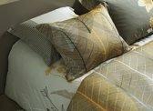 Vandyck dekbedovertrek Chestnut gold - 1-persoons (140x200/220 cm incl. 1 sloop)