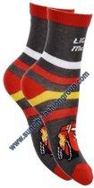 Cars jongens sokken grijs maat 27-30 voor kinderen