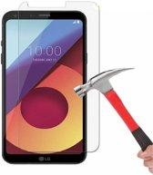 1 + 1 Gratis - LG Q6 glazen Screenprotector Tempered Glass  (0.3mm)