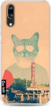 Casetastic Softcover Huawei P20 - Cool Cat