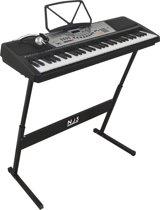 NJS800 full size complete keyboard set met 61 piano style toetsen