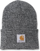 Carhartt Muts ACRYLIC WATCH HAT Zwart/Wit - Beanie