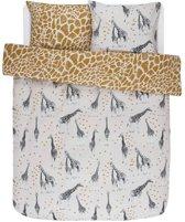 Covers & Co dekbedovertrek Saren - Dekbedovertrek - Lits-jumeaux - 240x200/220 cm + 2 kussenslopen 60x70 cm - Sand