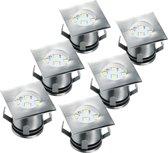 Ranex Mia Grondspot - LED -  6 stuks - IP64 - RVS