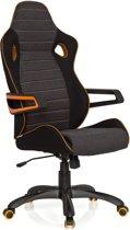 hjh office Racer Pro IV - Bureaustoel - Zwart/grijs/oranje