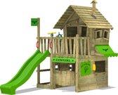 FATMOOSE CountryCow Maxi XXL met glijbaan - Speelhuis