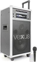 Vexus ST110 Mobiele geluidsset met CD en MP3 speler met USB en SD