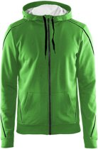 In-The-Zone Full Zip Hood men Craft green l