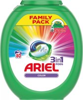 Ariel 3 in 1 Pods Color - 80 wasbeurten - Wasmiddel