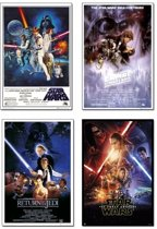 Posters Star Wars set 4 posters aanbieding