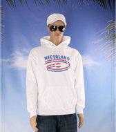 Witte sweater Nederland volwassenen S