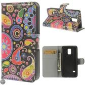 Meteor Print wallet hoesje Samsung Galaxy S5 mini