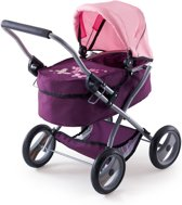 Bayer Poppenwagen My First Trendy Roze Paars