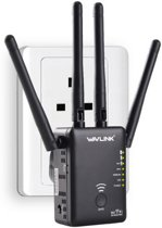 WiFi Repeater 866Mbps Router Access point Wireless Range Extender / Wavlink AC1200