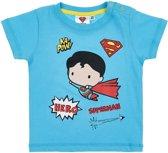 Superman-T-shirt-met-korte-mouw-blauw-maat-3-6-mnd