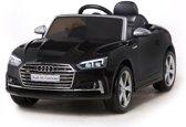 """Kinderwagen - Elektrische auto """"Audi S5"""" - Gelicenseerd - 12V7AH Oplaadbare batterij en 2 motoren - 2.4 Ghz afstandsbediening + MP3 + lederen zitting + EVA"""