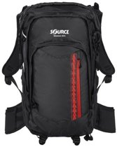 Source rugzak Adventure Pack Black/Fiesta 30+5 liter - Zwart