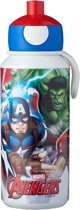 Mepal Campus Drinkfles Pop-up 400 ml - Avengers
