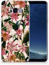 Samsung Galaxy S8 Plus Uniek TPU Hoesje Flowers