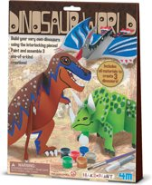 4M Crea Make&Paint Dinosaurus Wereld - Hobbyset