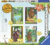 Ravensburger The Gruffalo. Vier puzzels -12+16+20+24 stukjes - kinderpuzzel