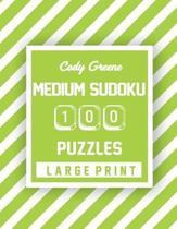 Cody Greene Medium Sudoku