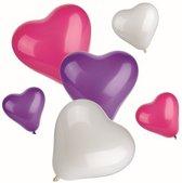 Ballonnen Hartjes - 12 stuks