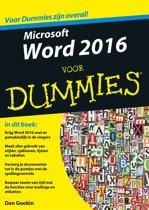 Voor Dummies - Microsoft Word 2016 voor Dummies