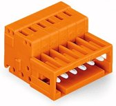 Wago 734-333 3-pole Oranje kabel-connector