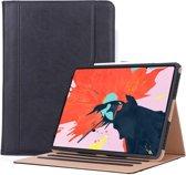 Apple iPad Pro 12.9 (2018) Hoes Smart Vintage Book Case Leer Zwart - Hoesje van iCall