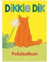 Dikkie Dik - Poeziealbum Dikkie Dik - Geel - 14 x 18,5 x 1 cm