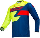 Kenny Crossshirt Track Lime/Navy/Red-L