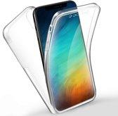 Samsung Galaxy A50 Hoesje - Dubbel zijdig 360° Hoesje - Transparant