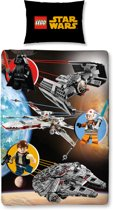 STAR WARS - Bed cover 140X200 - Lego Star Wars (100% Cotton)