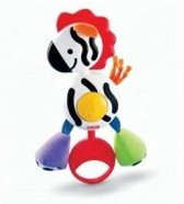 Fisher Price Rammelaar Zebra
