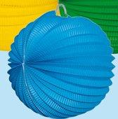 Lampion lichtblauw 24 cm