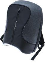 Davidt's Urban Traveler - Anti Diefstal - Laptop Backpack - 17 inch - zwart / grijs