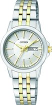 Citizen EQ0608-55AE - Horloge - Staal - Bicolor - 28 mm