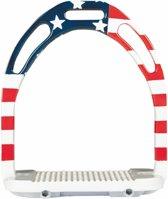 HKM Stijgbeugels -Flags- Vlag USA