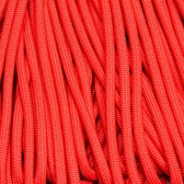 Paracord 550 Glossy Red - Type 3 - 5 meter - #7