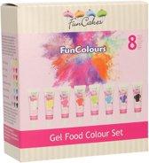 FunCakes FunColours Eetbare Kleurengels Set/8