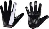 Merida Fietshandschoenen S Met Touchscreen Zwart Wit