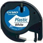 Dymo Letratag Labeltape - Wit (91201) / 1 stuk