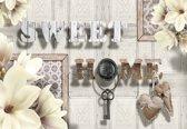 Fotobehang Sweet Home Lilies | XXL - 312cm x 219cm | 130g/m2 Vlies