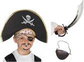 Piraat accessoires verkleedset voor kinderen