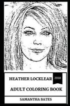 Heather Locklear Adult Coloring Book