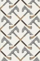 Viking Pattern - Crossed Axes Decoration
