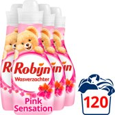 Robijn Vloeibaar Pink Sensation - 4 x 750 ml - Was