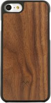 Woodcessories - iPhone 7 Hoesje - EcoCase-Casual Walnoot Zwart